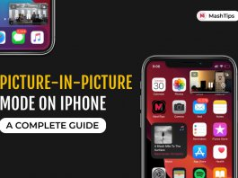 Picture in picture on iPhone complete guide