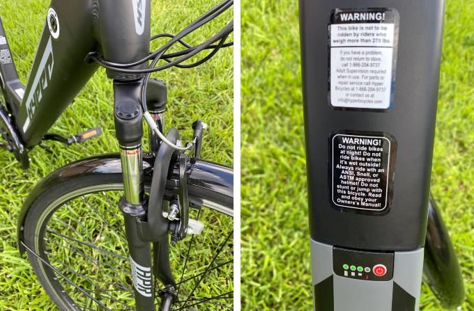 700c-Hyper-E-Bike Shock Capacity