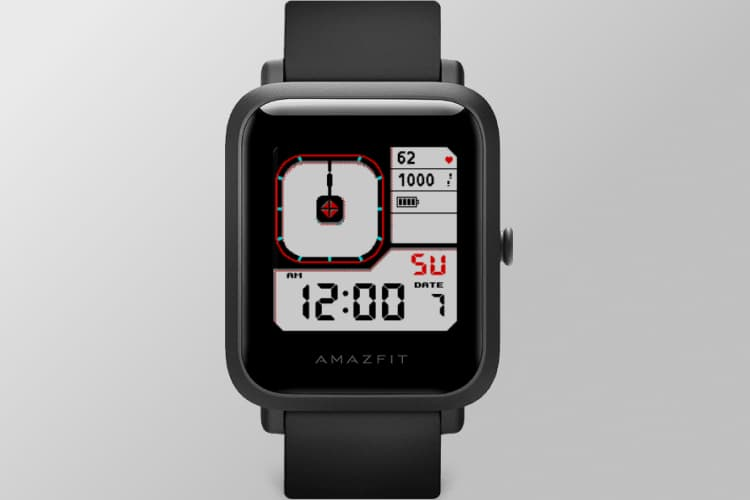 Amazfit Bip S Watch face Dual Timezone