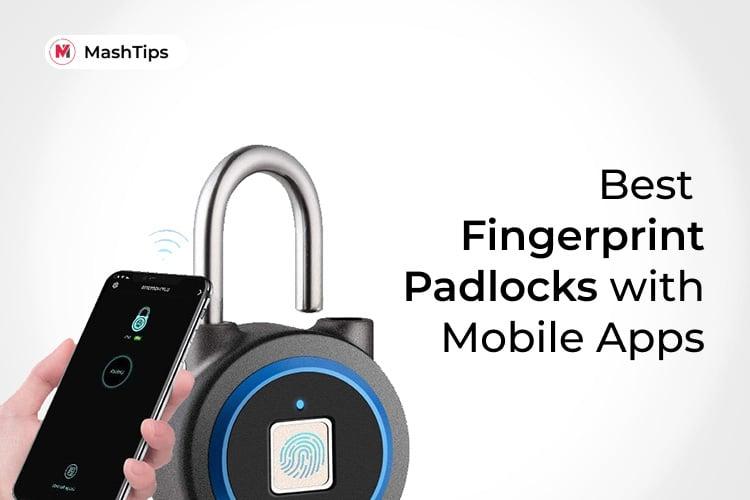 Best Fingerprint Padlock with Mobile Apps
