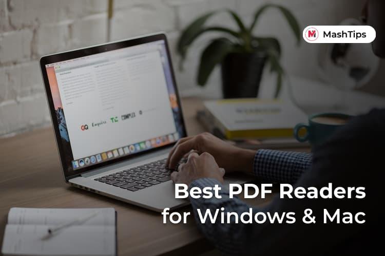 Best Free PDF Readers Windows Mac
