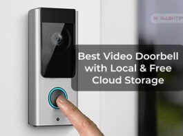 Best Video Doorbell with Local & Free Cloud Storage
