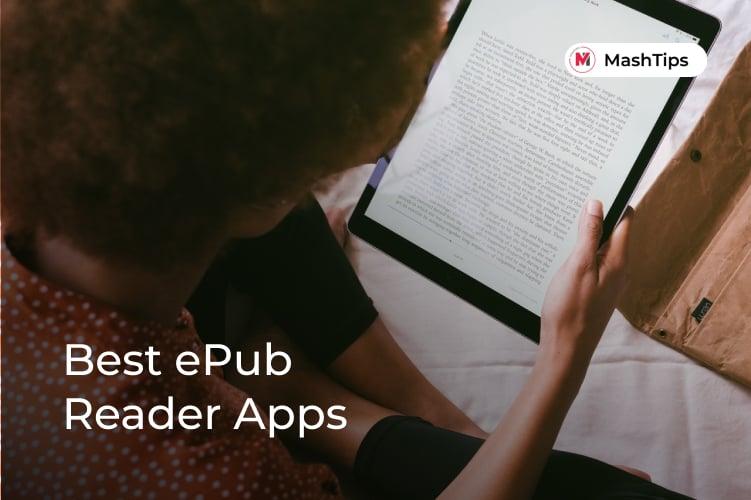 Best epub reader apps Android iPad Windows