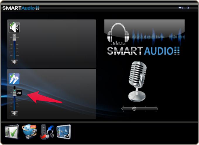 Boost mic volume from Conexant SmartAudio
