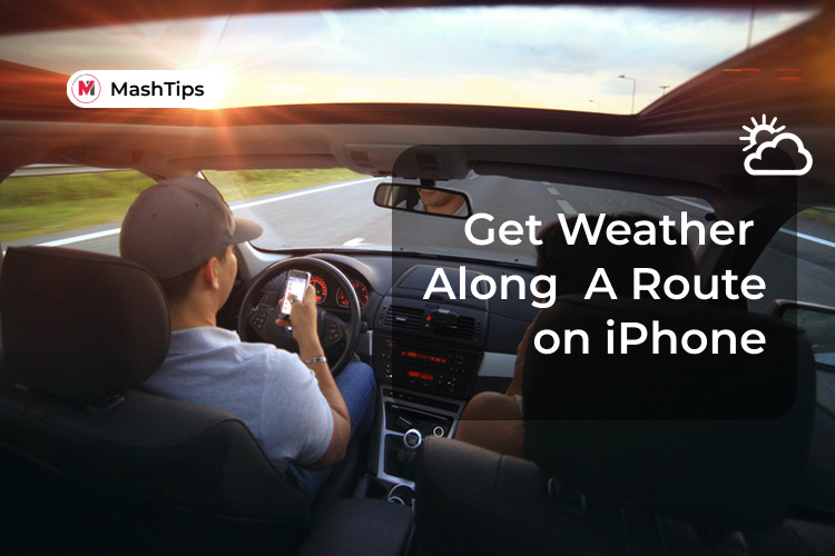 Get Weather Along Route on iPhone