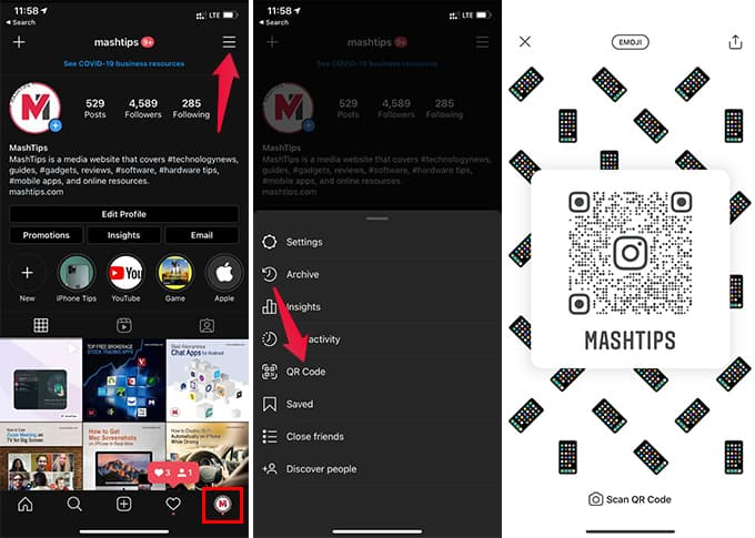 How to Create Custom Instagram QR Code for Business Instagram Account
