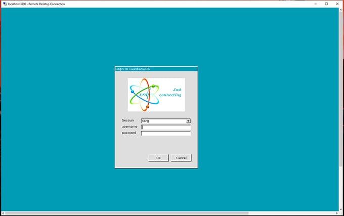 xrdp login to linux