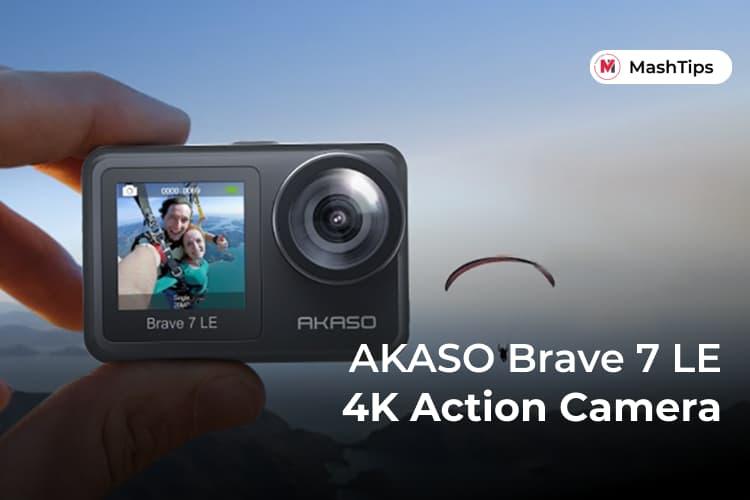 AKASO Brave 7 LE 4K Action Camera