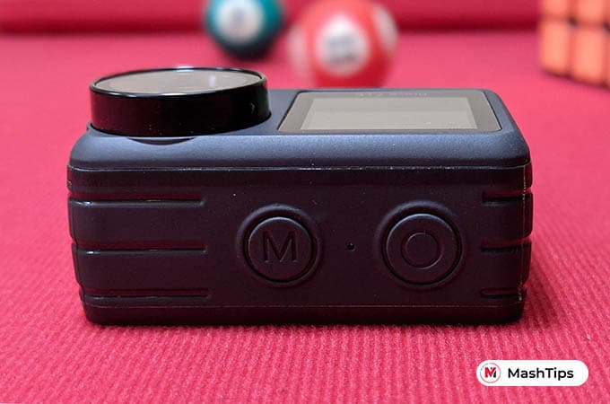 AKASO Bravo 7 LE Action Camera Buttons