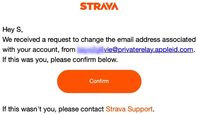 Apple Sign in Email ID Email Change