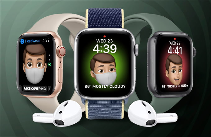 Apple Watch Memoji Watch Faces