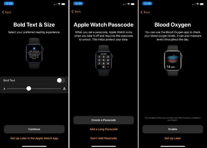Apple Watch Restore Setting