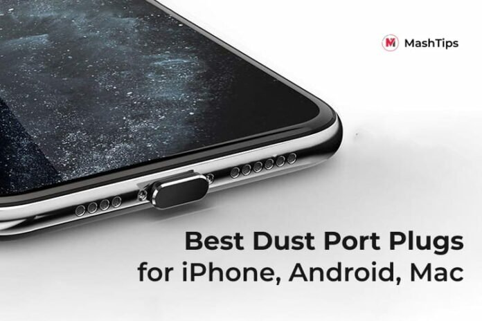 Best Anti Dust Port Plugs for Android iPhone iPad Mac