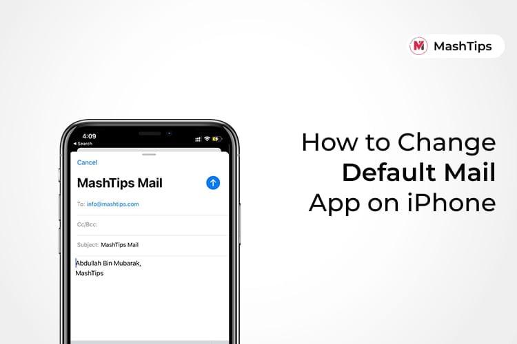 Change Default Mail App on iPhone