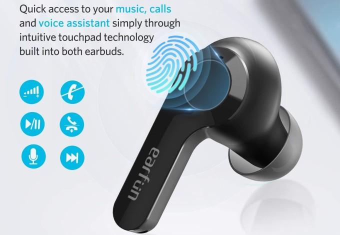 EarFun Air Touch Controller