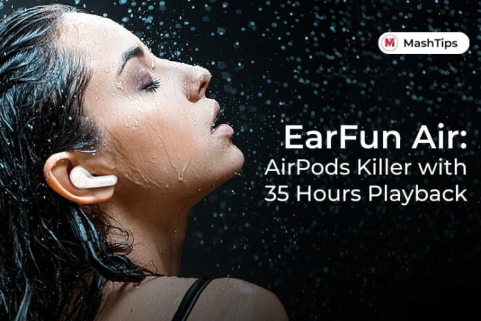 EarFun Air True Wireless Earbuds with Bluetooth 5.0