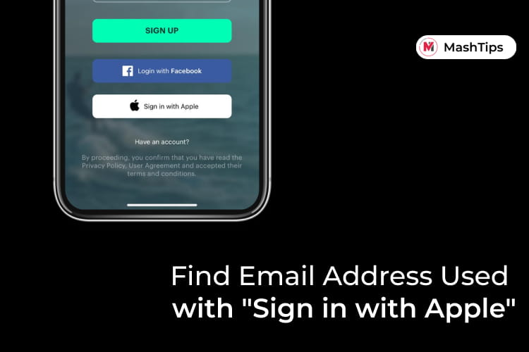 Find Email Address Used with Sign in with Apple