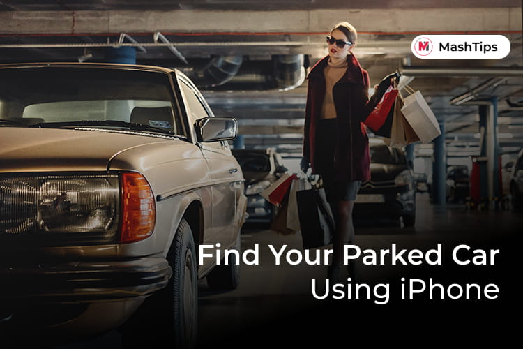 Find Parked Car Location Using iPhone