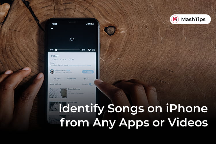 Identify Songs from Any Apps Music and Videos on iPhone