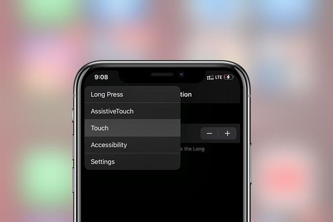 New Haptic Gestures in iPhone Settings