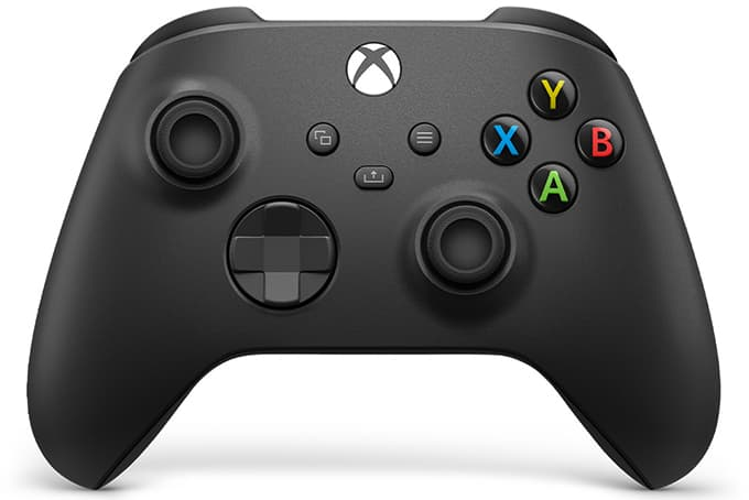 New Xbox Series X Controller Black