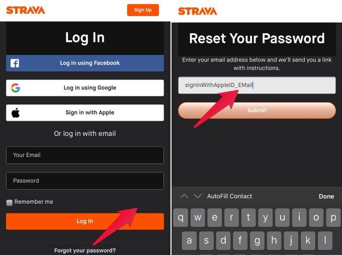 Sign in Apple ID Password Reset