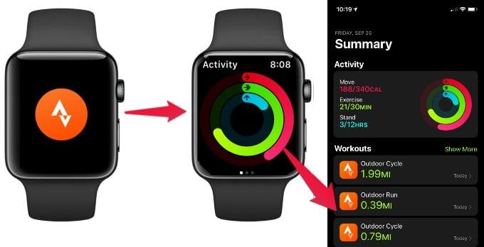 Strava Fitness Activity Sync
