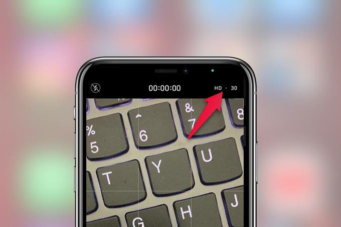 Video Resolution in Camera App iPhone