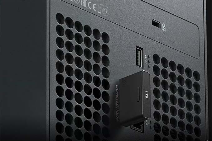 Xbox Series X Storage Expansion