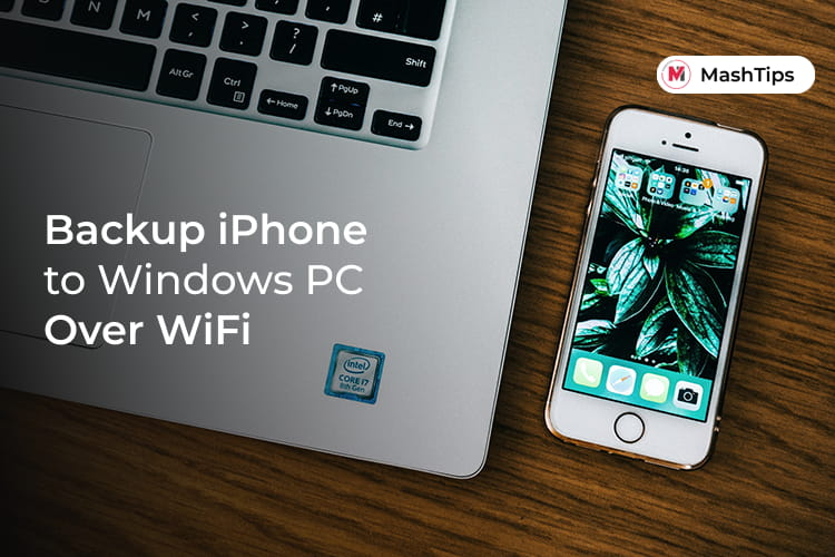 iPhone Backup Over WiFi to Windows PC