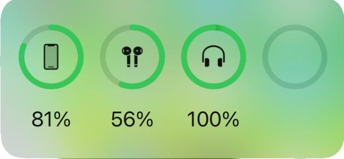 iPhone Batteris Widget