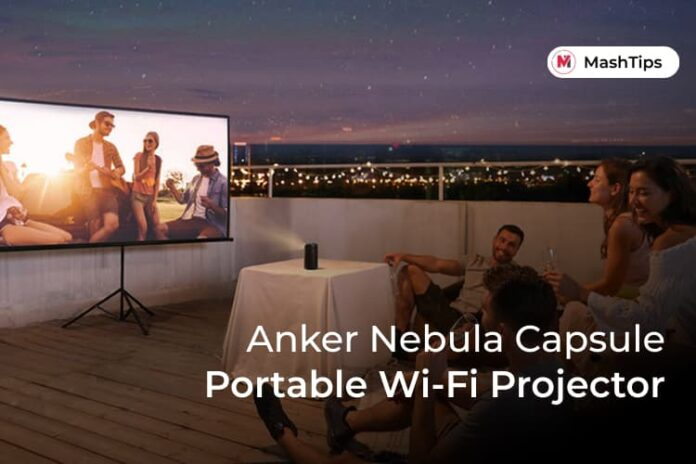 Anker Nebula Capsule Portable WiFi Projector