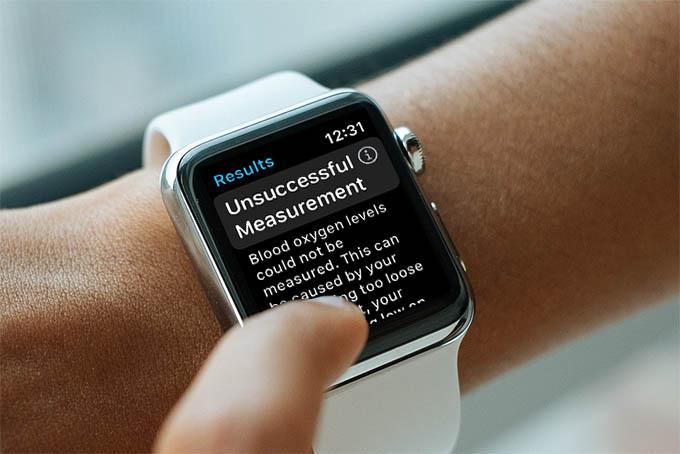 Apple Watch Blood Oxygen Troubleshoot