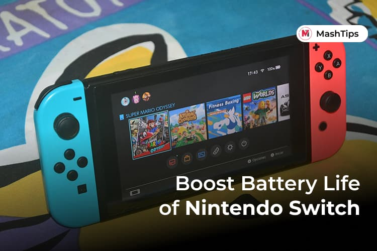 Best Ways to Boost Nintendo Switch Battery Life