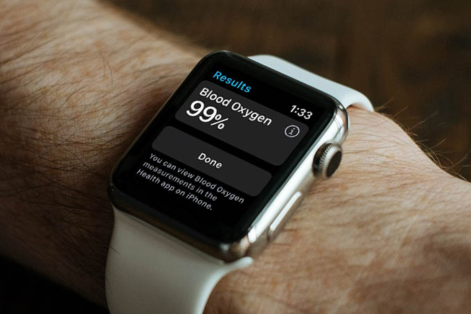 Blood Oxygen Level Apple Watch