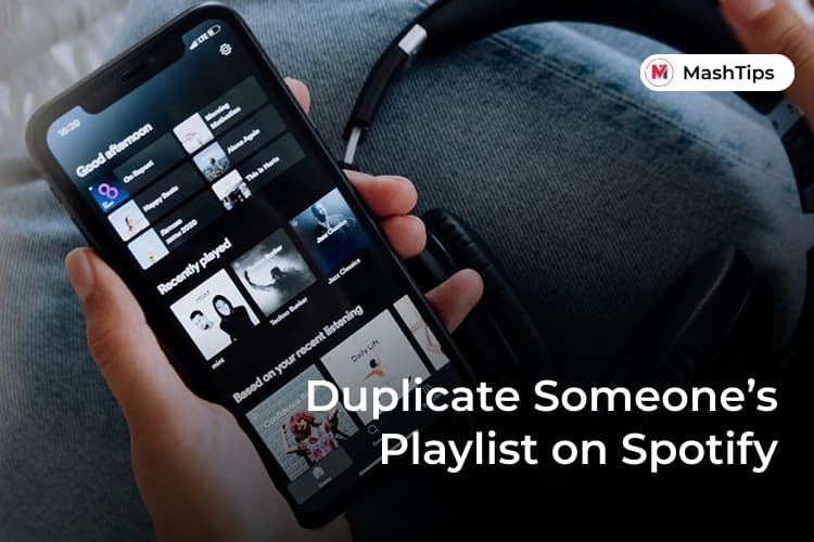 Duplicate Spotify Playlists Made by Someone