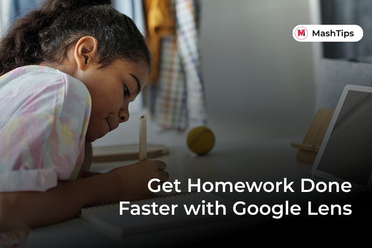 Finish Homework Fast with Google Lens App