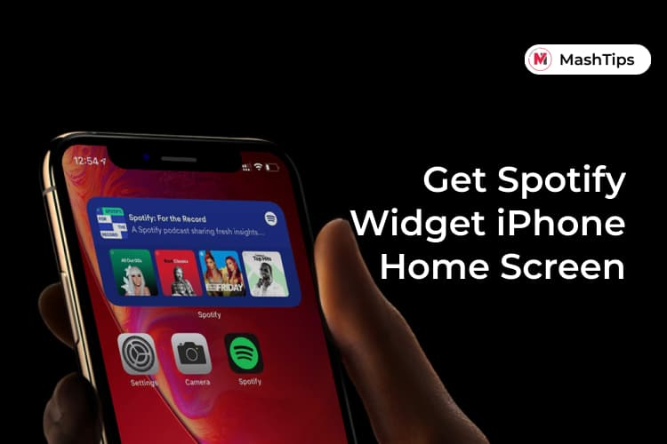 Get Spotify Widget on iPhone Home Screen Now Playing