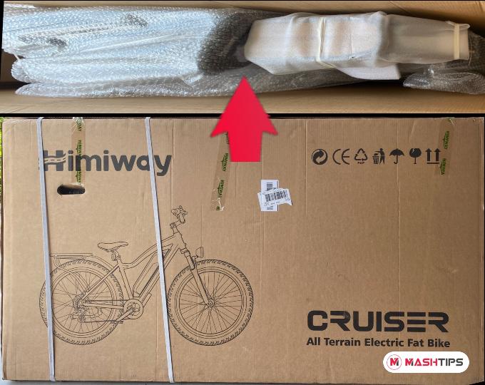 Himiway Cruiser eBike Packing