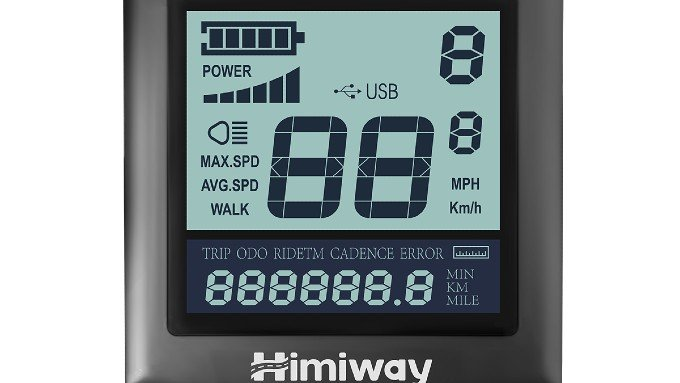 Himiway LCD Full Display