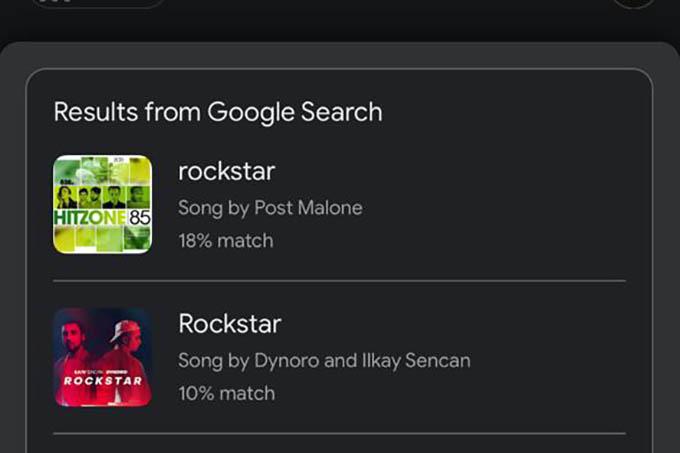 Identify Songs by Singing in Google