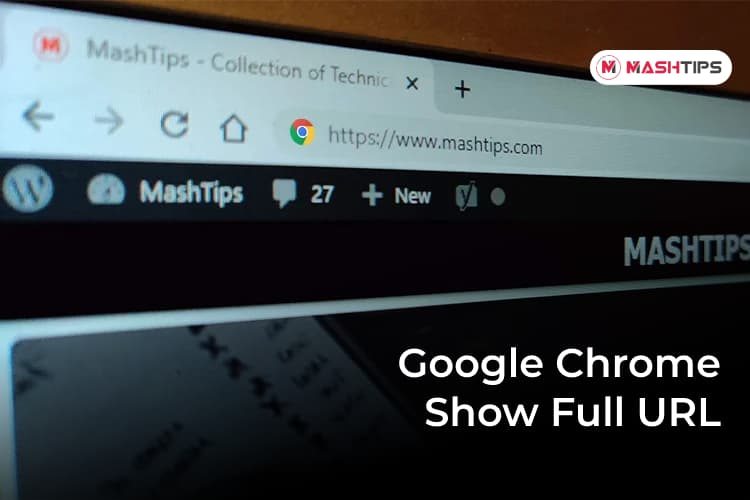 Make Google Chrome Show Full URL