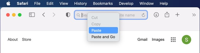 Paste URL from iPhone on Mac