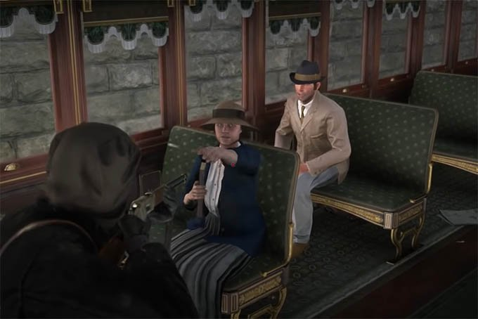 RDR 2 Coach Robbery