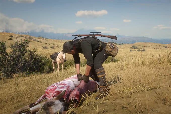 Hunting in RDR 2