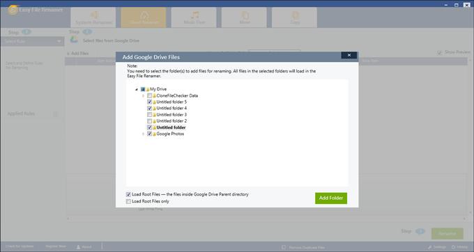 rename files in drive on desktop