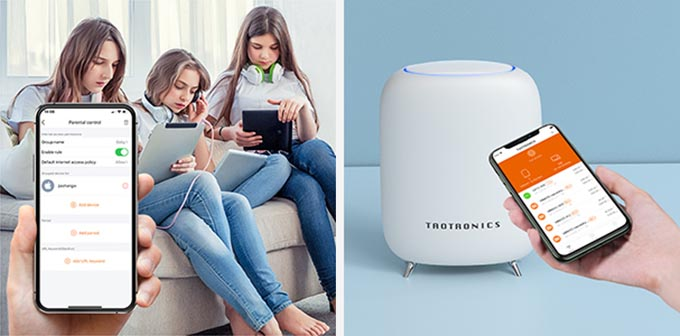 TT App for TaoTronics Mesh WiFi Router