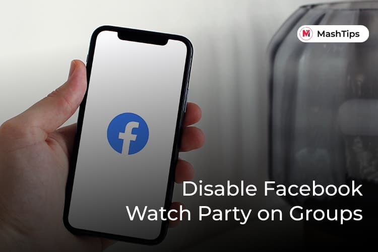 Turn off Facebook Watch Party on Groups