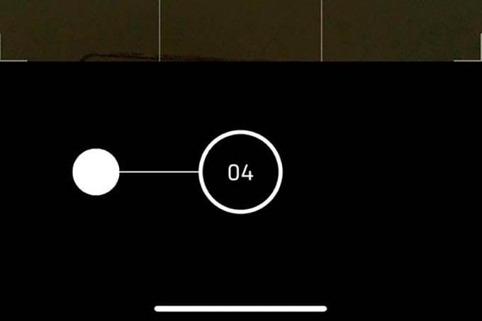 iPhone Camera Burst Mode