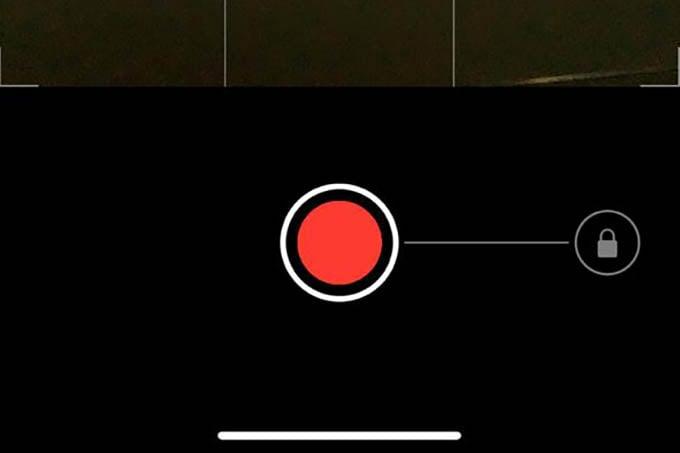 iPhone Camera Quick Take Video